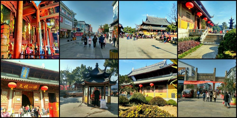Guanqian Street Xuanmiaoguan temples