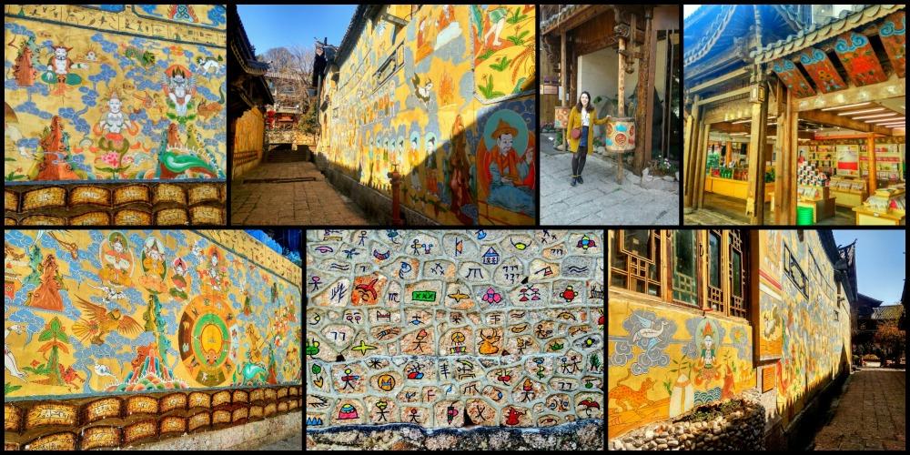 naxi peinture murale