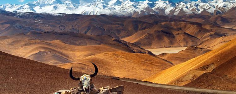 montagnes du tibet