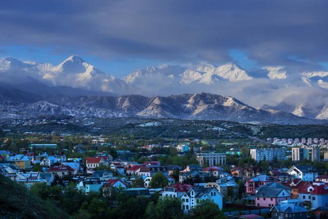 Ville d'Almaty / crédit multivu.com