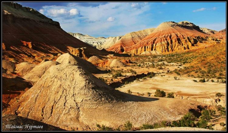 Altyn Emel Parc National Kazakhstan