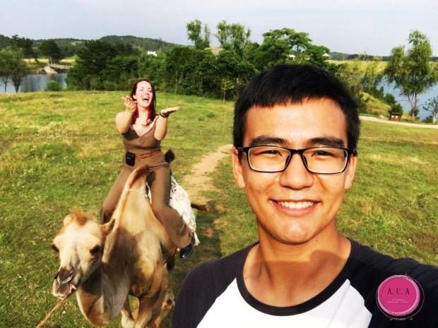 balade a dos de chameau chine