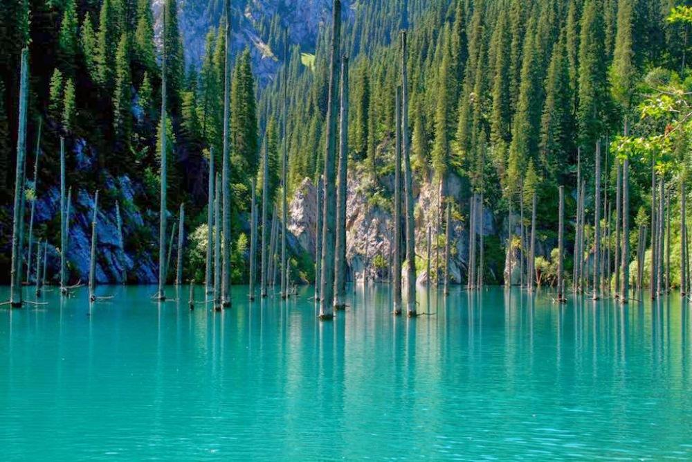 Lac Kaindy Kazakhstan